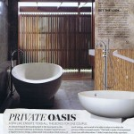Vogue Living article on the ensuite at Clayfield P residence